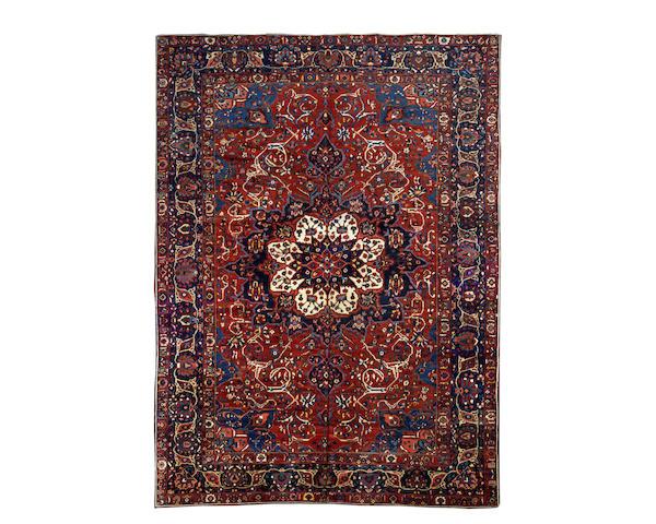 A Bakhtiar carpet, West Persia