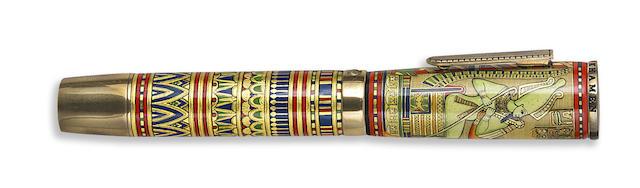 KRONE: King Tutenkhamen Limited Edition 388 Fountain Pen