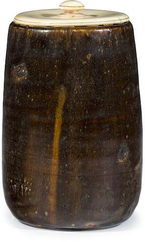 A Seto ware tea ceremony vessel
