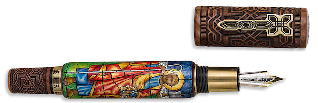 KRONE: Saint Patrick Limited Edition 288 Fountain Pen