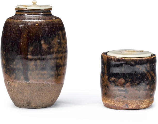 Two tea ceremony utensils