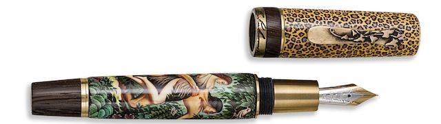 KRONE: Tarzan Limited Edition 388 Fountain Pen