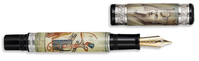 KYNSEY: Ramses II Limited Edition 10 Fountain Pen