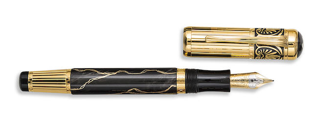 MONTBLANC: Alexander the Great Patron of Art Limited Edition 4810 Fountain Pen