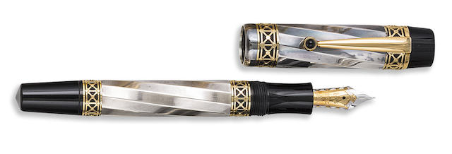 MONTBLANC: Karl der Grosse [Charlemagne] Patron of Art Series Limited Edition 4810 Fountain Pen