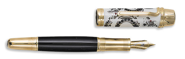 MONTBLANC: Luciano Pavarotti Patron of Art Limited Edition 888 Fountain Pen