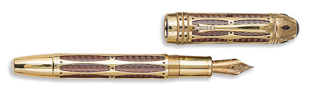 MONTBLANC: Pope Julius II Patron of Art Series Limited Edition 888 Fountain Pen
