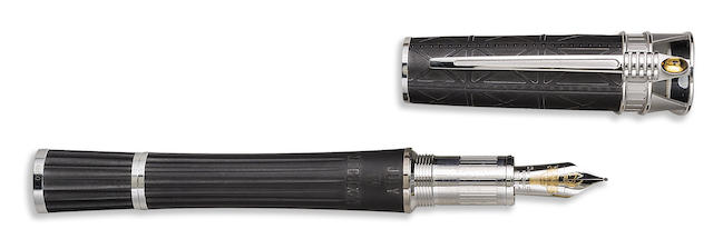 MONTBLANC: Statue of Liberty 14K Gold & PVD Limited Edition 50 Fountain Pen
