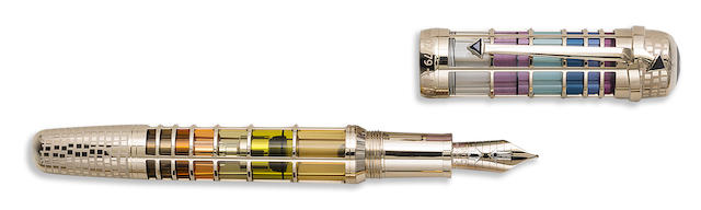 MONTBLANC: Paul Klee 18K Solid Gold Skeleton Limited Edition 79 Fountain Pen