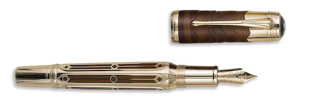 MONTBLANC: Caspar David Friedrich 18K Solid Gold Limited Edition 65 Fountain Pen
