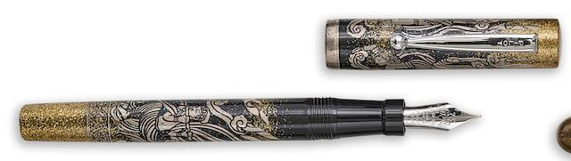 NAMIKI: Pilot-Namiki 85th Anniversary Maki-e Limited Edition 1000 Fountain Pen