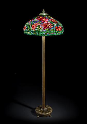 Tiffany Studios: Peony Floor Lamp