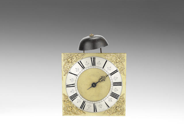 A late 17th/early 18th century transitional posted frame weight driven clock