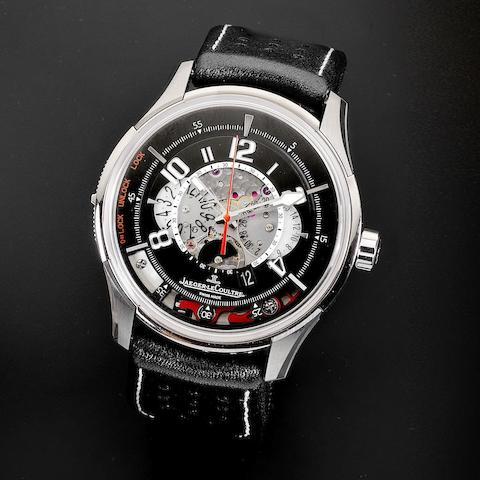 A titanium automatic calendar chronograph wristwatch