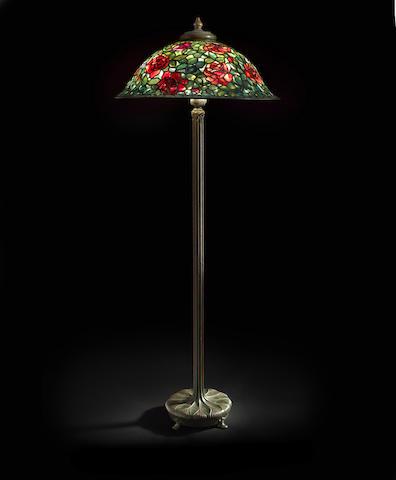 Rose Bush Floor Lamp