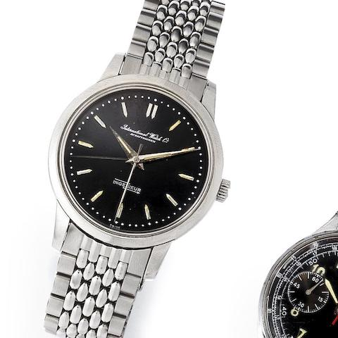 IWC. A stainless steel automatic bracelet watch