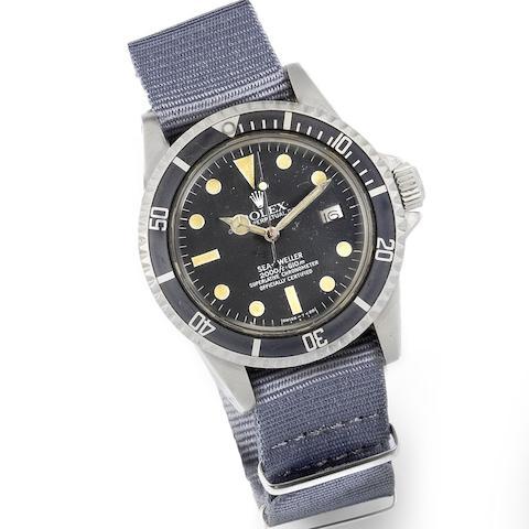 Rolex. A stainless steel automatic calendar watch head