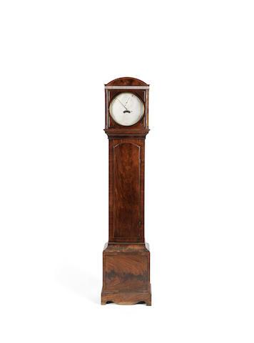 A good early 19th century mahogany floorstanding regulator