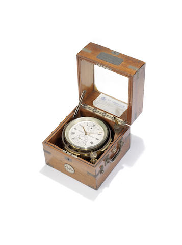 A 20th century marine chronometer