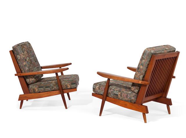 Pair of Cushion Armchairs