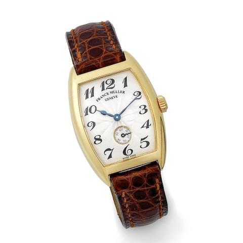 A lady's 18K gold manual wind wristwatch