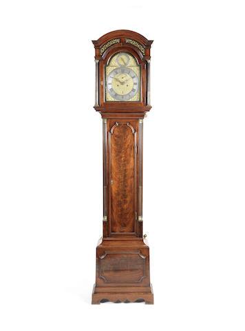 A good mid 18th century mahogany longcase clock with deadbeat escapement