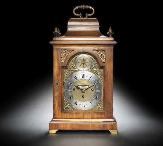 An early 18th century quarter-chiming and repeating table clock in a later 18th century case