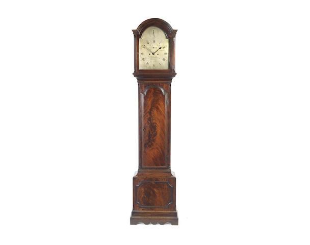 A fine late 18th century mahogany longcase clock