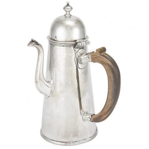 William III Silver Coffee Pot