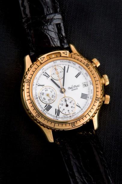 Gentleman wristwatch brand Paul Picot, model U-Boot