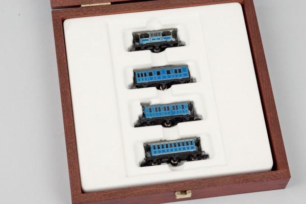 Miniatura de 4 vagones de tren, Arnold
