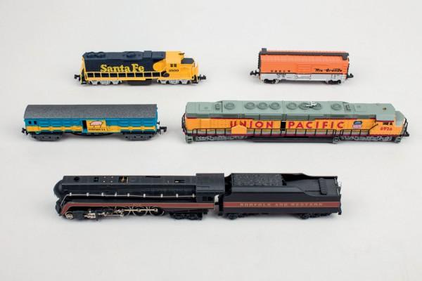 Ferrocarril mercancías USA