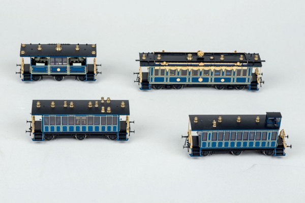 Tren miniatura escala HO edición especial del fab