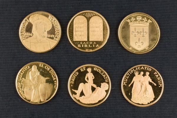 Six gold medals