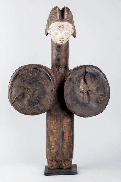 Wooden bellows Punu