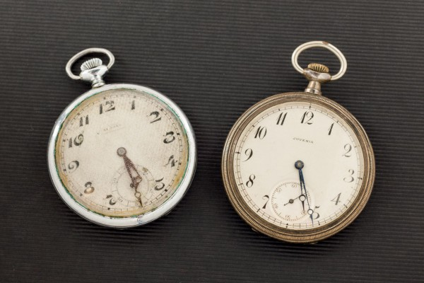 Two silver pocket watches, pps. S. XX