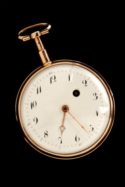 Gold pocket watch S. XIX