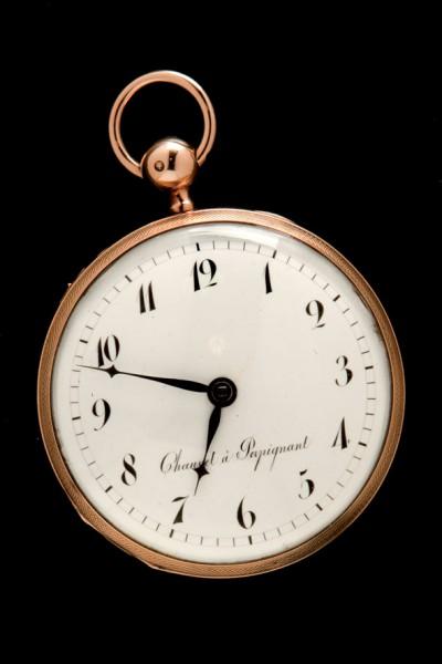 French gold watch pocket S. XIX