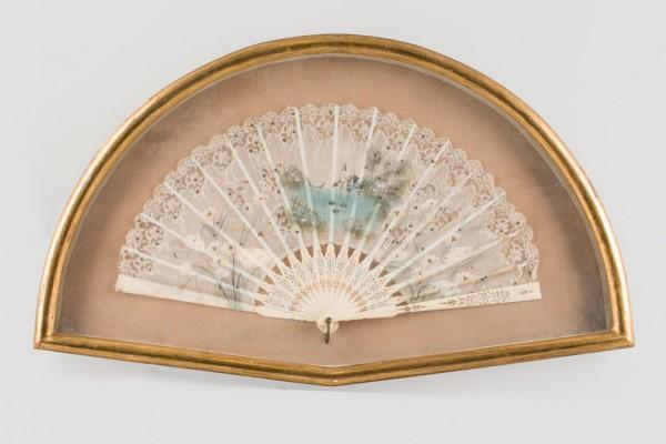 Alfonsino fan. Circa 1890