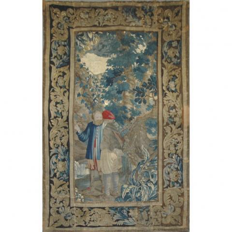 Franco Flemish Tapestry Panel