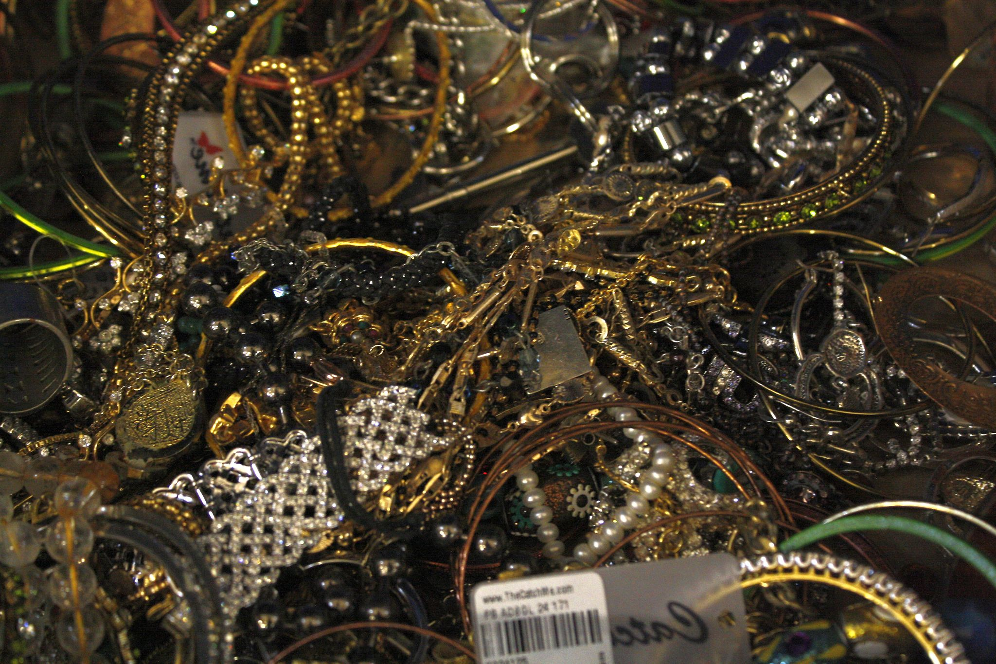A collection of costume jeweller