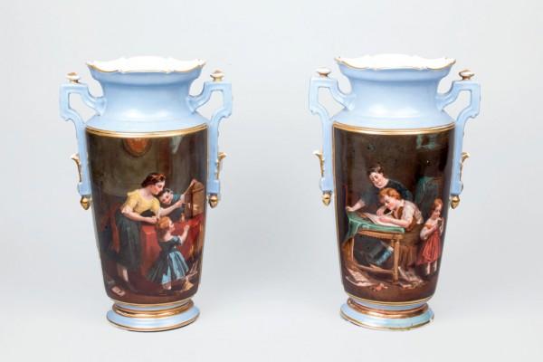 Pair of ancient vases