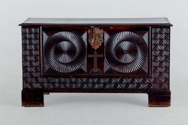 Basque chest. S. XVII