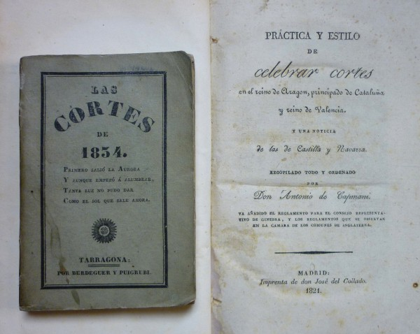 Practice of holding courts. Courts 1834