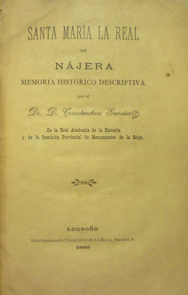 THE REAL SANTA MARIA NÁJERA
