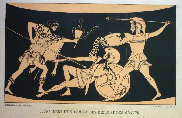 MYTHOLOGIE DE LA GRÉCE ANTIQUE