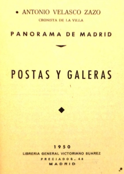 PANORAMA DE MADRID