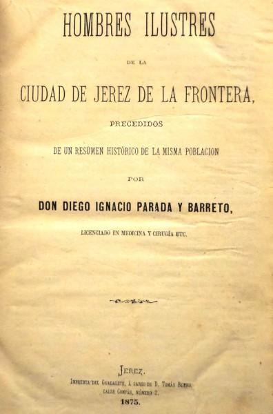 COLECCION DE EFEMÉRIDES JEREZANAS