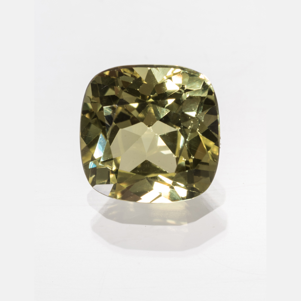 A Synthetic Yellow Sapphire