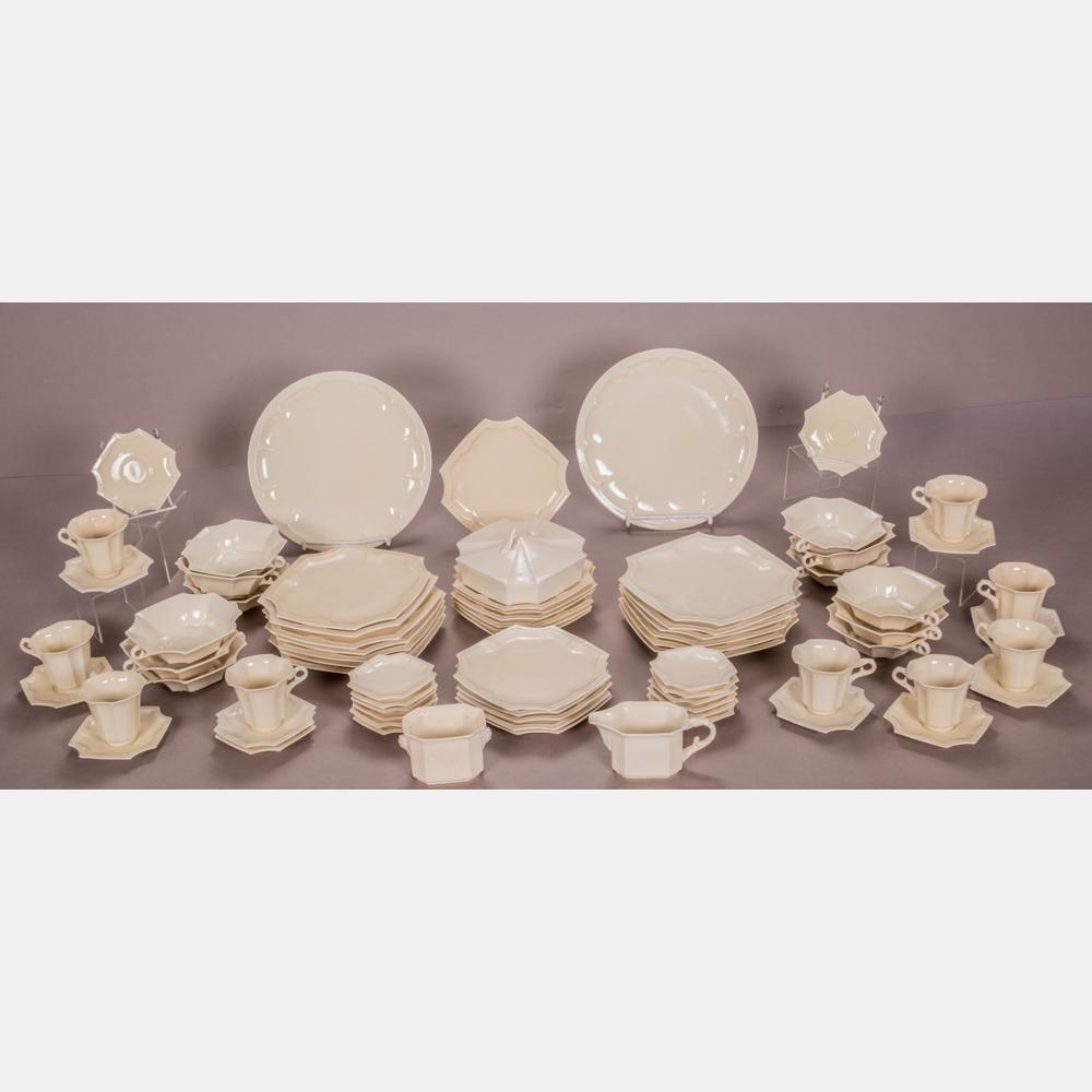A Set of Cowan Pottery Dinnerware